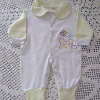 Macacão longo - 3 meses - Aconchego do Bebê
