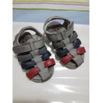 Sandália de Velcro Bibi Fisio Flex Bebê Menino - Tam 20 - 20 - Bibi