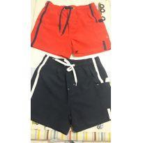 2 Shorts de Tactel Infantil - Tam 2 - 2 anos - Poim