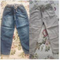 2 calças menino jeans e sarja tam 2-3 anos - 2 anos - Poim