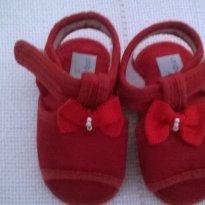 sandália vermelha - 15 - unipasso