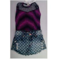 CONJUNTO IT GIRL - TAM 4 - 4 anos - Sem marca