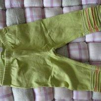 legging verde pistache - 3 a 6 meses - First Impressions