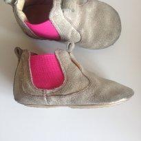 Bota Tip Toey Joey 21 - dourada com pink - 21 - Tip Toey Joey