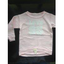 Moletom Osh Kosh Rosa Love - 18 meses - OshKosh