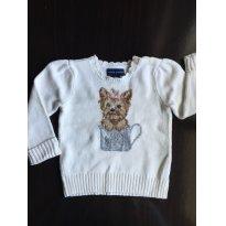 Pulôver de lã Ralph Lauren - 18 meses - Ralph Lauren