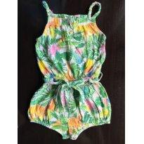 Macaquinho Zara Tropical - 12 a 18 meses - Zara