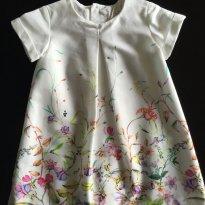 Vestido Zara Floral - 18 meses - Zara Baby