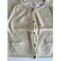 Cardigan Areia Zara - 9 a 12 meses - Zara Baby