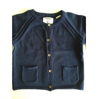 Cardigan Zara Azul Marinho - 18 meses - Zara Baby