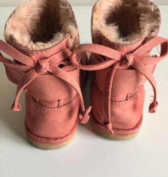 Bota Zara Rosa Antigo - 23 - Zara Baby