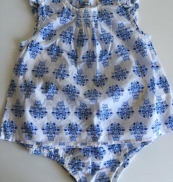 Conjuntinho Osh Kosh azul e branco - 2 anos - OshKosh