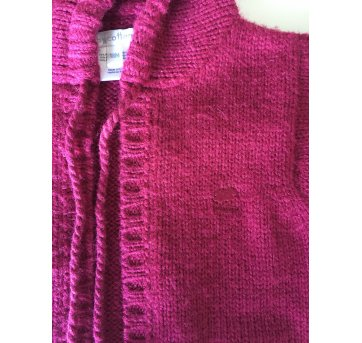 Casaco lã angorá BabyCottons - 18 meses - Baby Cottons
