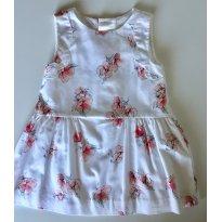 Vestido Zara Floral - 2 anos - Zara Baby