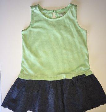 Vestido Gap Green + Denim - 12 a 18 meses - GAP