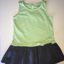 Vestido Gap Green + Denim - 12 a 18 meses - GAP