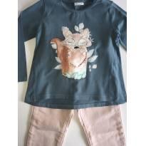 Camiseta Zara Raposa - 4 anos - Zara Baby