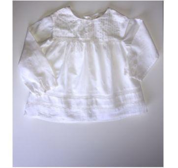 Bata Off White Zara - 24 a 36 meses - Zara