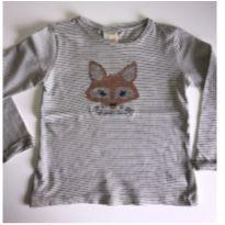 Camiseta Zara Raposa - 6 anos - Zara