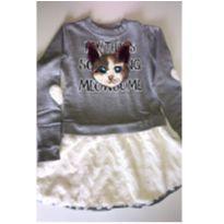 Vestido Gatinho Animê - 6 anos - Animê