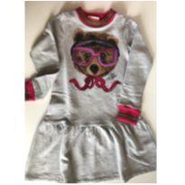 Vestido Ursinho Animê - 6 anos - Animê