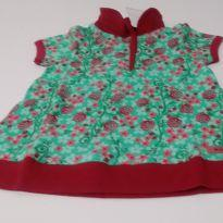 Vestido Floral - 9 meses - Milk & Co