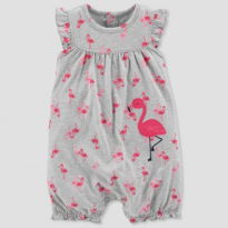 Romper Flamingo - Just on You by Carter`s - 6 meses - Carter`s