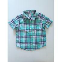 Camisa Green - Carters - 1 ano - Carter`s