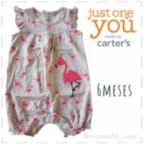 Romper flamingo - Just One You by Carters (110) - 6 meses - Carter`s