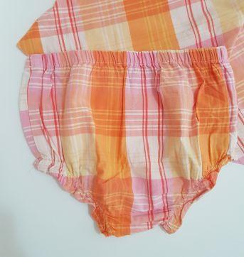 Vestido Summer - Tommy Hilfiger (118) - 6 a 9 meses - Tommy Hilfiger