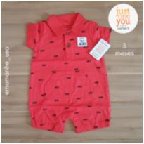 Romper bombeiro - Carter`s Just One You (133) - 3 meses - Carter`s