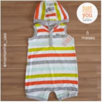 Romper Happy - Carter`s just on you (131) - 6 meses - Carter`s