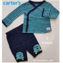 Conjunto Monster - Carter`s (115) - 3 meses - Carter`s