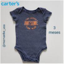 Body Eu sou Incrível - Carter`s - 6 meses - Carter`s
