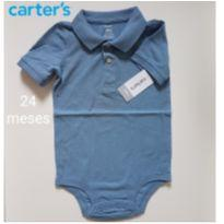 Body NOVO Polo Piquet - Carters - 2 anos - Carter`s