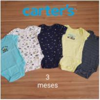 Kit 5 body Galáxia - Carters - 3 meses - Carter`s