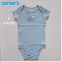 Body Aconchego Carters - 6 meses - Carter`s