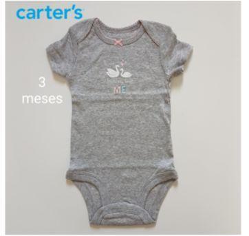 Body Mamãe  me ama Carters (Novo) - 3 meses - Carter`s