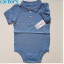 Body Pólo Piquet - Carters (novo) - 18 meses - Carter`s