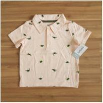 Camisa Polo Dino - Carters (nova) - 18 meses - Carter`s