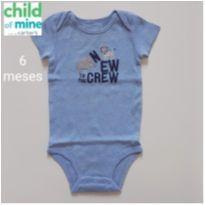 Body Bichos - Child of Mine Carter`s - 6 meses - Child of Mine