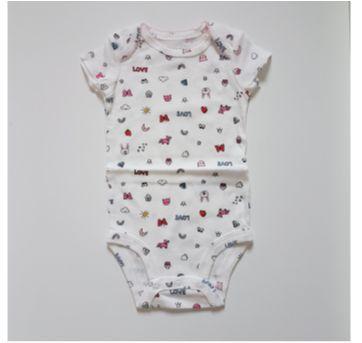 Kit 5 bodys Coelhinha - Carters (Novo) - 3 meses - Carter`s