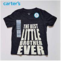 Camiseta Melhor irmão - Carter`s (nova) - 18 meses - Carter`s