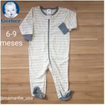 Macacão Leve - Gerber - 6 a 9 meses - Gerber