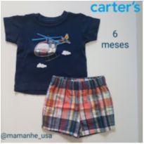 Conjunto Helicóptero - Carter`s - 6 meses - Carter`s