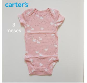 Body Baby girl - Carters - 3 meses - Carter`s