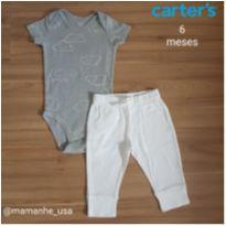 Conjunto Nuvens - Carters - 6 meses - Carter`s