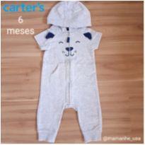 Macacão Cachorrinho - Carters - 6 meses - Carter`s