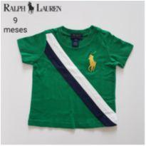 Camiseta Ralph Lauren - 9 meses - Ralph Lauren