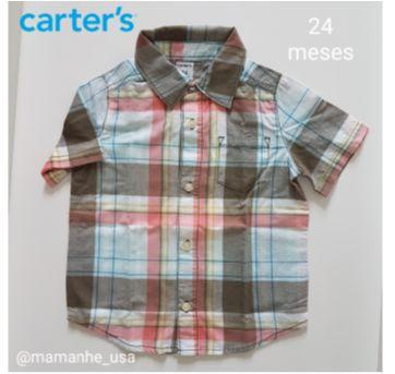 Camisa Red - Carters - 1 ano - Carter`s